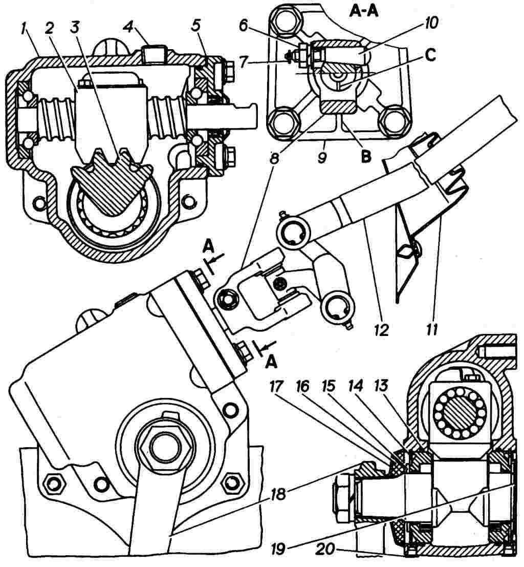 Регулировка рулевого редуктора газель без гидроусилителя своими руками