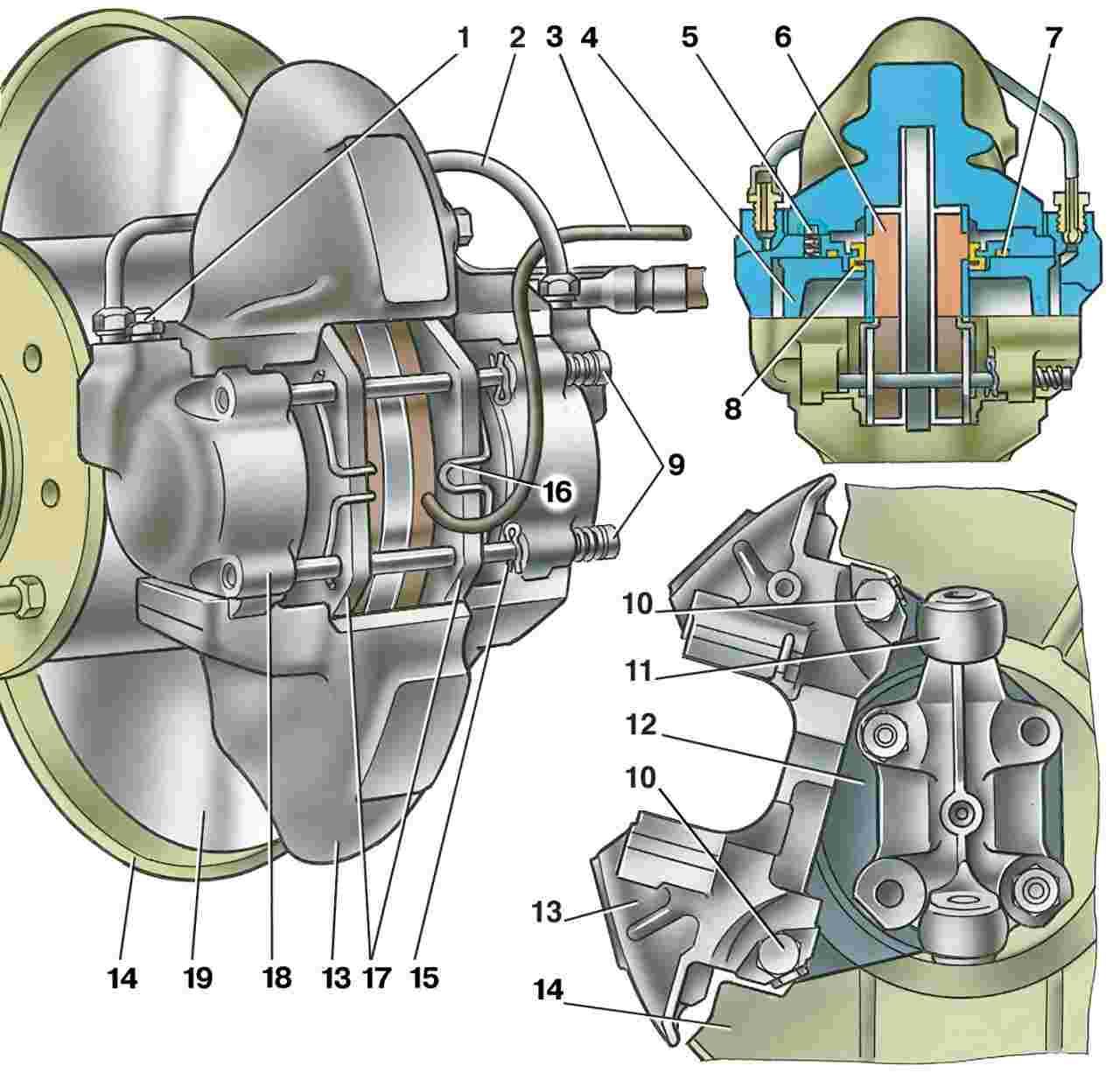 Ваз классика устройство схема привода