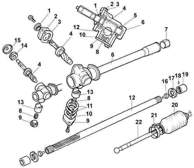 Рулевая рейка форд фокус 3 ремонт своими руками видео