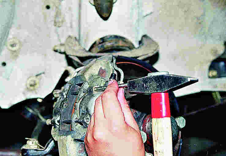 Замена тормозных колодок на ваз 2106