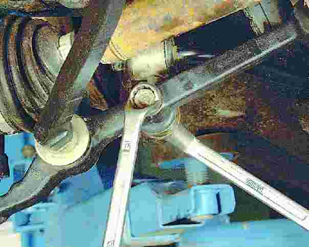 Ваз 2109 ремонт передней подвески своими руками видео