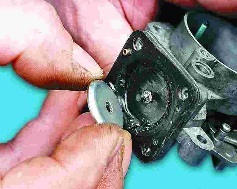 Как заменить диафрагму на энергоаккумуляторе видео
