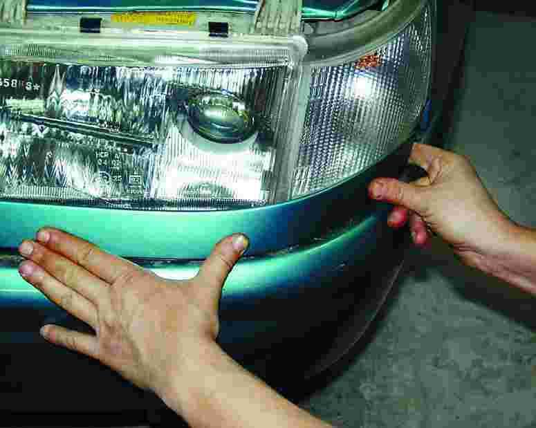 Замена стекла фары ваз 2115