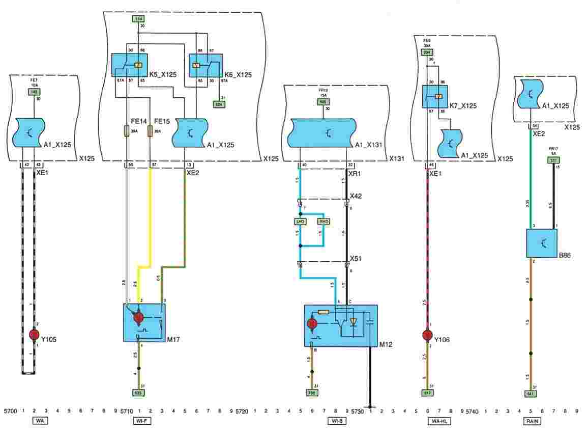 Схема датчика температуры на опель омега в